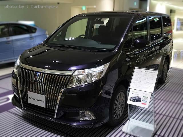 トヨタ・エスクァイアHV